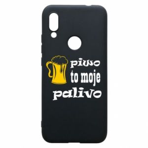 Phone case for Xiaomi Redmi 7 Beer is my fuel - PrintSalon