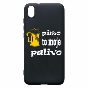 Phone case for Xiaomi Redmi 7A Beer is my fuel - PrintSalon