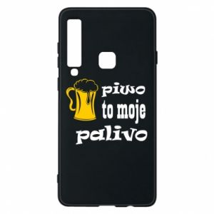 Phone case for Samsung A9 2018 Beer is my fuel - PrintSalon