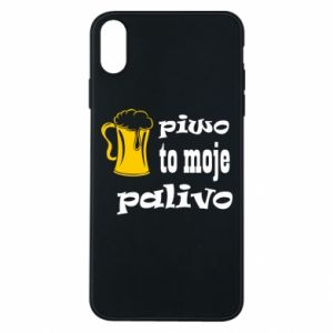 Phone case for iPhone Xs Max Beer is my fuel