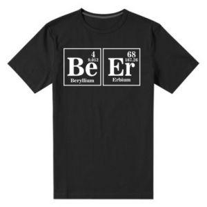 Męska premium koszulka Piwo
