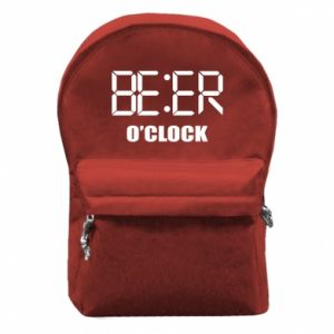 Backpack with front pocket Beer