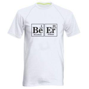 Męska koszulka sportowa Piwo
