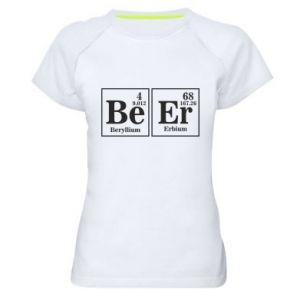 Women's sports t-shirt Beer