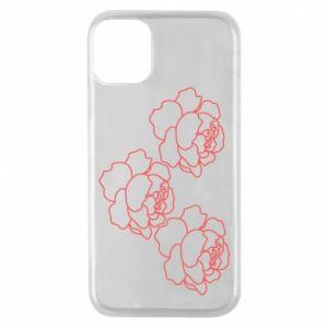 iPhone 11 Pro Case Peonies