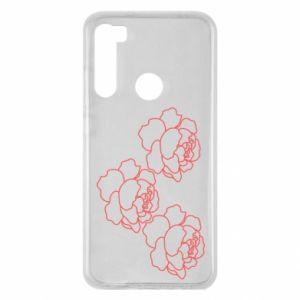 Xiaomi Redmi Note 8 Case Peonies