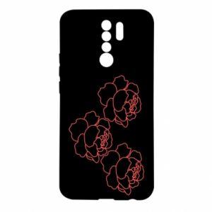 Xiaomi Redmi 9 Case Peonies