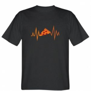 T-shirt Pizza cardiogram