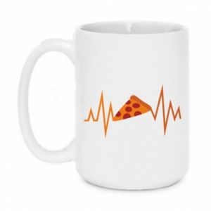 Kubek 450ml Pizza cardiogram