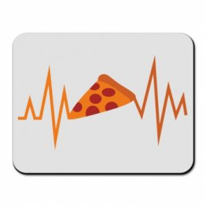 Mouse pad Pizza cardiogram