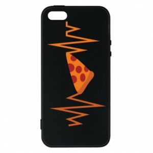 Etui na iPhone 5/5S/SE Pizza cardiogram