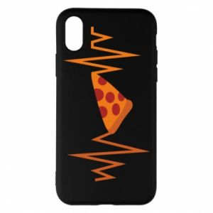 Etui na iPhone X/Xs Pizza cardiogram