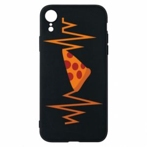Etui na iPhone XR Pizza cardiogram