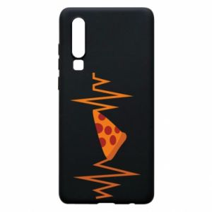 Phone case for Huawei P30 Pizza cardiogram