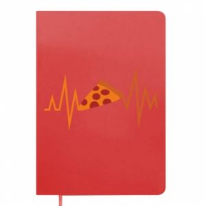 Notepad Pizza cardiogram