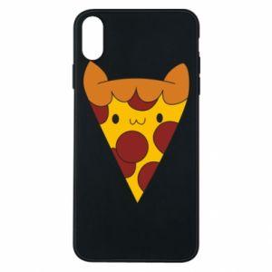 Etui na iPhone Xs Max Pizza cat