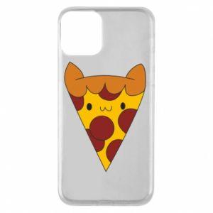 Etui na iPhone 11 Pizza cat