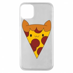 Etui na iPhone 11 Pro Pizza cat