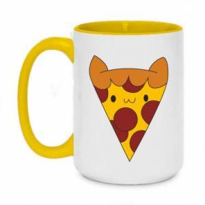 Kubek dwukolorowy 450ml Pizza cat