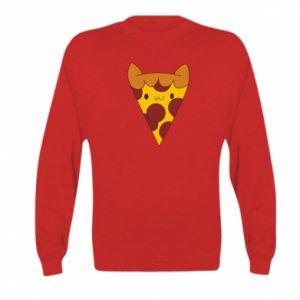 Bluza dziecięca Pizza cat