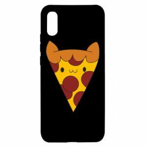 Xiaomi Redmi 9a Case Pizza cat