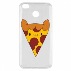 Etui na Xiaomi Redmi 4X Pizza cat