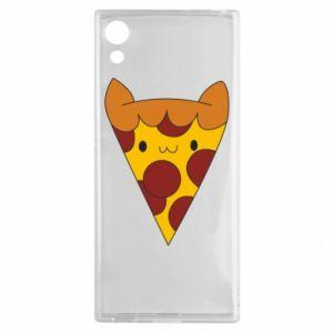 Etui na Sony Xperia XA1 Pizza cat