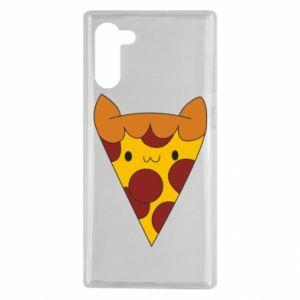 Etui na Samsung Note 10 Pizza cat