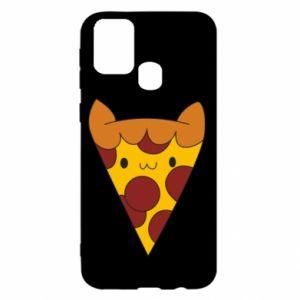 Etui na Samsung M31 Pizza cat