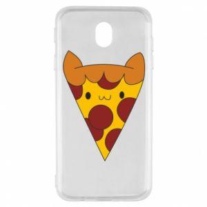 Etui na Samsung J7 2017 Pizza cat