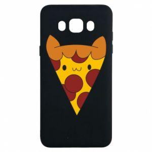 Etui na Samsung J7 2016 Pizza cat
