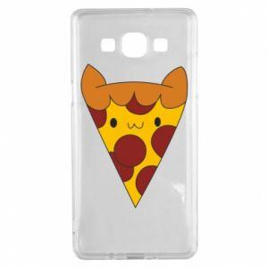 Etui na Samsung A5 2015 Pizza cat
