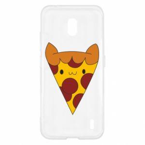 Etui na Nokia 2.2 Pizza cat