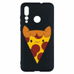 Etui na Huawei Nova 4 Pizza cat