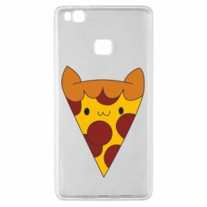 Etui na Huawei P9 Lite Pizza cat