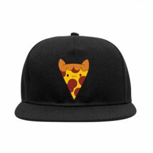 Snapback Pizza cat
