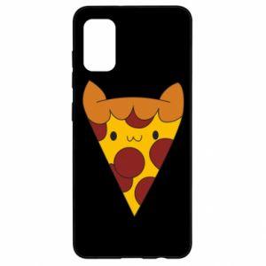 Etui na Samsung A41 Pizza cat