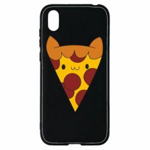 Etui na Huawei Y5 2019 Pizza cat