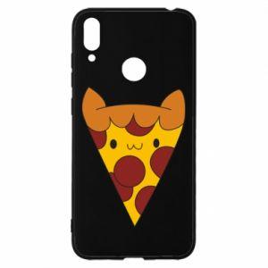 Etui na Huawei Y7 2019 Pizza cat