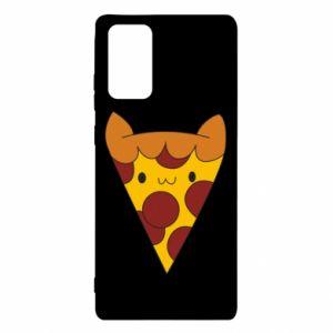 Etui na Samsung Note 20 Pizza cat