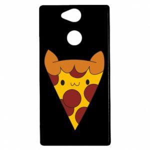 Etui na Sony Xperia XA2 Pizza cat