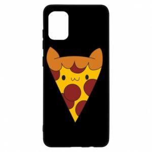Etui na Samsung A31 Pizza cat
