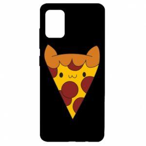 Etui na Samsung A51 Pizza cat