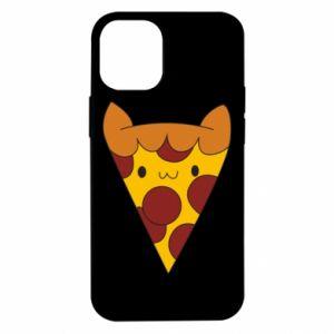 Etui na iPhone 12 Mini Pizza cat