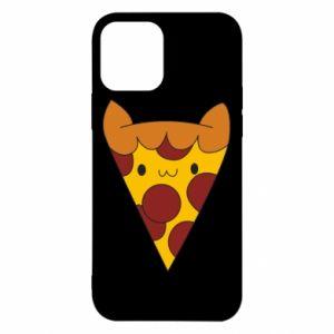 Etui na iPhone 12/12 Pro Pizza cat