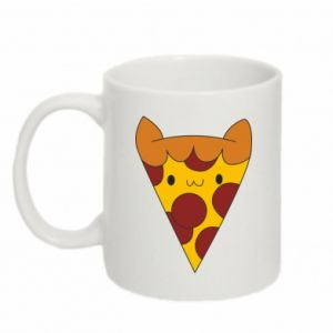 Mug 330ml Pizza cat