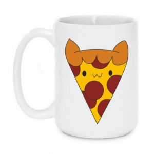 Mug 450ml Pizza cat - PrintSalon