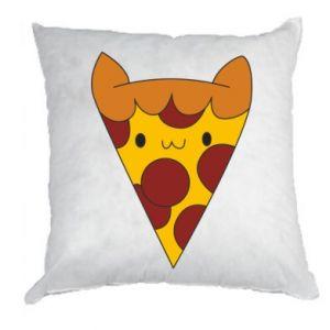 Poduszka Pizza cat
