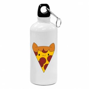 Bidon turystyczny Pizza cat