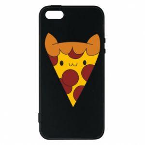Etui na iPhone 5/5S/SE Pizza cat